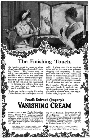 Cosmetics and Skin: Vanishing Creams