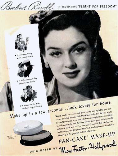Cosmetics and Skin: Pan-Cake Make-up