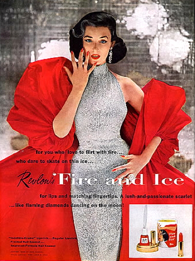 Cosmetics and skin revlon 1952 revlon fire and ice ccuart Image collections