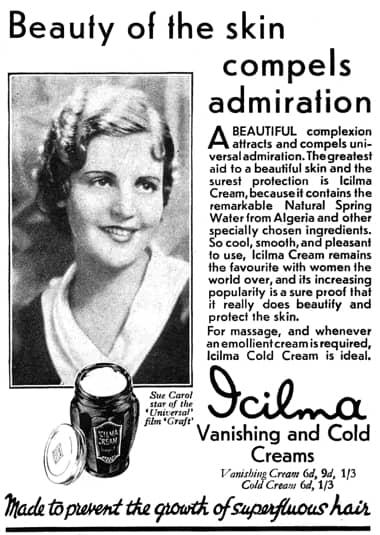 Cosmetics and Skin: Cold Creams