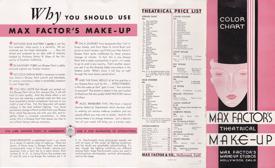 Cosmetics And Skin Booklets