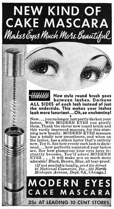 1937 Modern Eyes Mascara