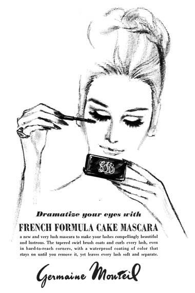 1965 Gemain Monteil cake mascara