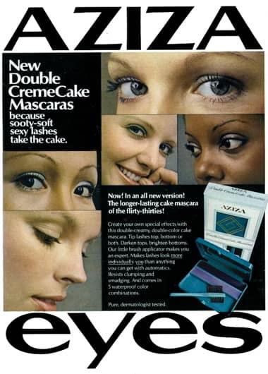 1972 Aziza Double CremeCake Mascara