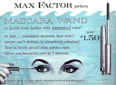 Cosmetics and Skin: Max Factor (1945-1960)