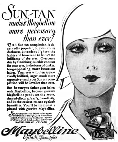 1929 Maybelline Eyelash Beautifier