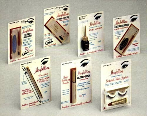 1968 Maybelline products