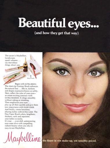 1968 Maybelline Eye Make-up