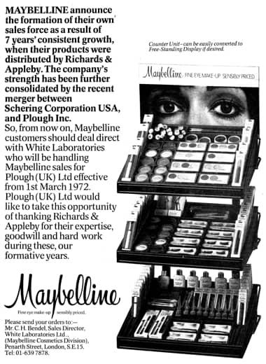 1972 British trade announcement