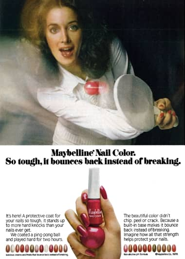 1978 Maybelline Nail Color