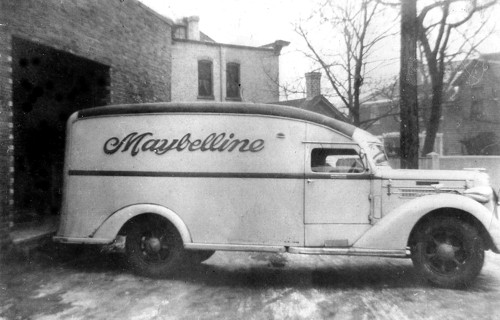 The Maybelline truck