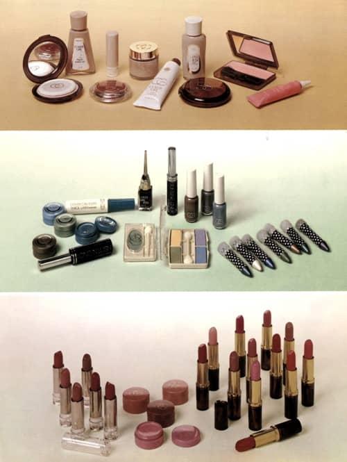 1975 Cover Girl make-up range