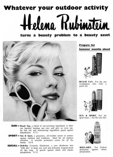 Cosmetics and Skin: Helena Rubinstein (post 1945)